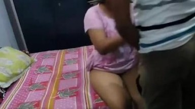 Horny Desi Gf Forcing Bf For Fucking